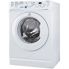 Buy Indesit XWD71252W Freestanding Washing Machine, 7kg Load, A++ Energy Rating, 1200rpm Spin, White Online at johnlewis.com