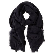 Buy Mint Velvet Plain Texture Scarf Online at johnlewis.com