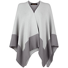 Buy Jaeger Cashmere Cape, Grey Online at johnlewis.com