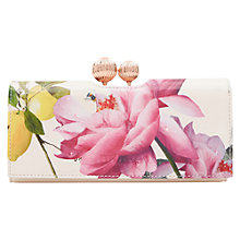 Buy Ted Baker Marggo Leather Matinee Purse, Nude Pink Online at johnlewis.com