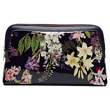 Buy Ted Baker Shelea Botanical Trail Wash Bag, Navy Online at johnlewis.com