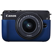 Buy Canon EH28-FJ Face Jacket For Canon M10 Compact System Camera Online at johnlewis.com
