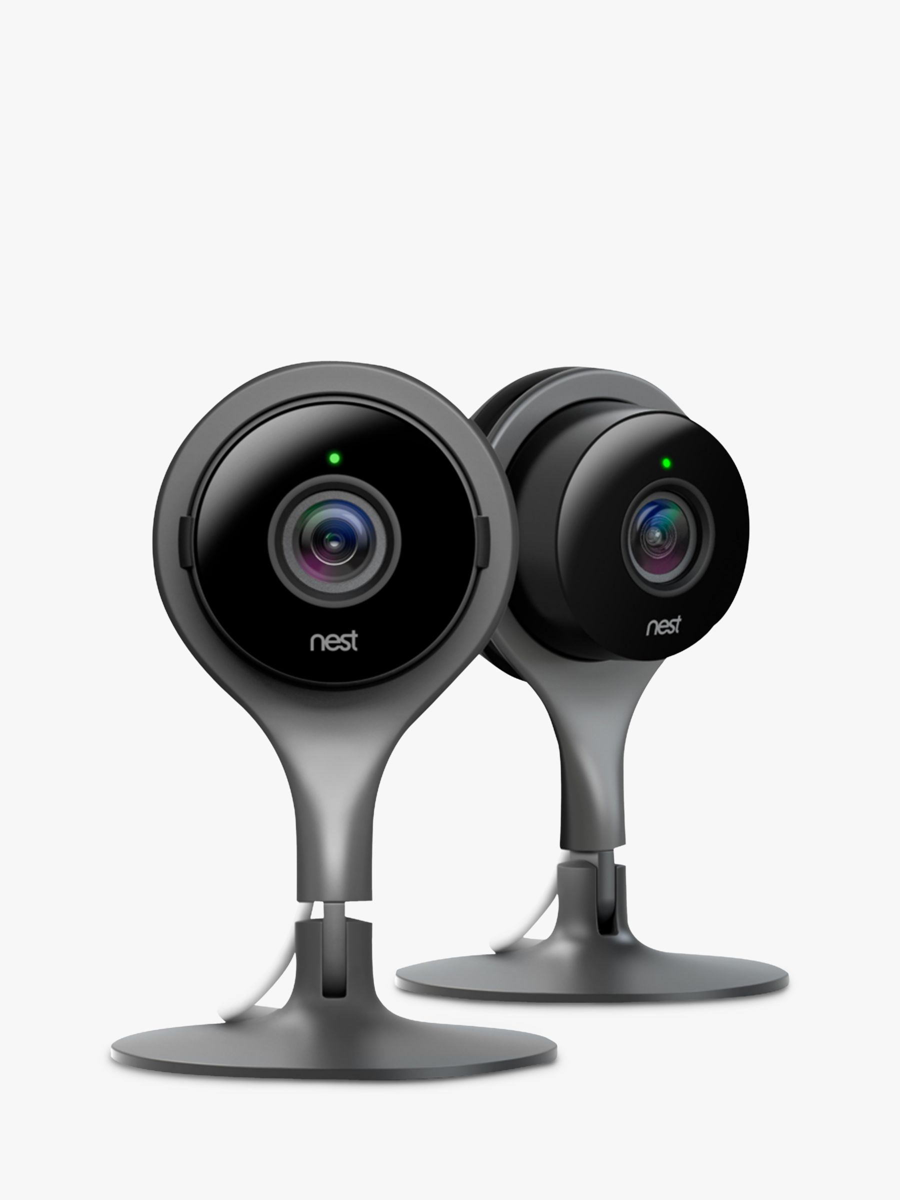 Nest Nest Cam Indoor Security Camera, Pack of 2