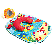 Buy Tiny love Tummy Time Fun Under The Sea Activity Mat Online at johnlewis.com
