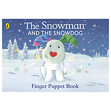 Buy The Snowman and the Snowdog Finger Puppet Book Online at johnlewis.com