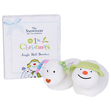 Buy The Snowman and The Snowdog Booties Gift Box Online at johnlewis.com