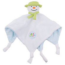 Buy The Snowman Comforter Soft Toy Online at johnlewis.com