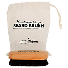 Buy Men's Society Beard Brush Online at johnlewis.com