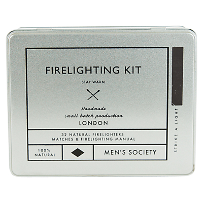Men's Society Firelighting Kit