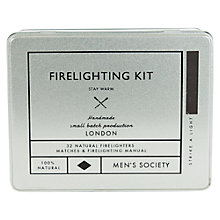 Buy Men's Society Firelighting Kit Online at johnlewis.com