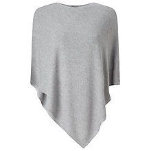 Buy Phase Eight Eden Poncho, Grey Online at johnlewis.com
