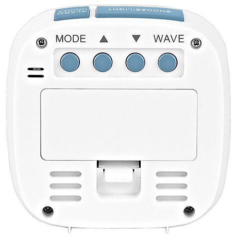 buy acctim sandby radio controlled alarm clock white. Black Bedroom Furniture Sets. Home Design Ideas