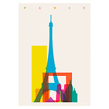 Buy House by John Lewis, Yoni Alter - Paris Unframed Print, 30 x 40cm Online at johnlewis.com