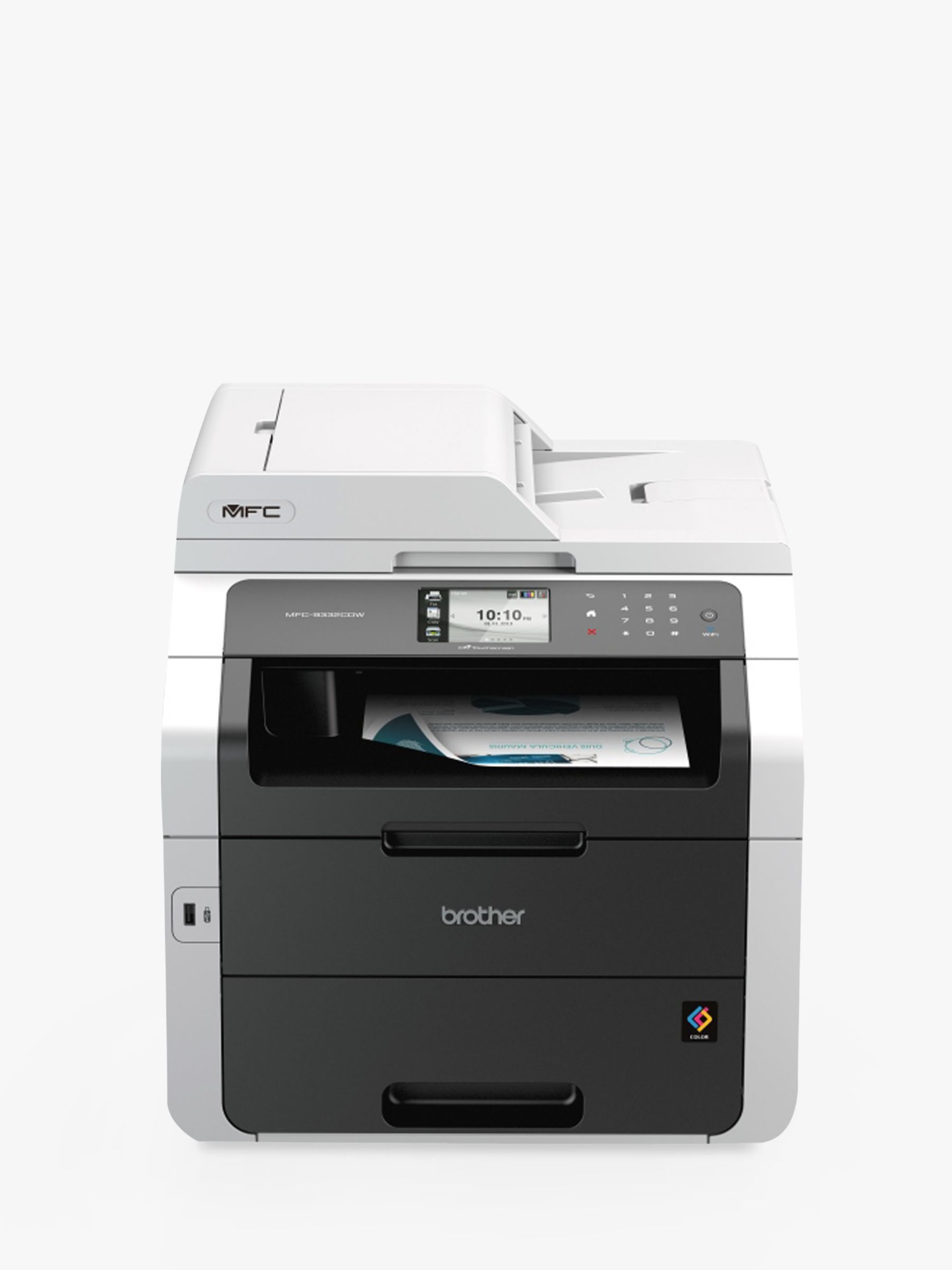 Brother Brother MFC-9330CDW Colour Laser All-in-One Printer with Duplex, Fax, Network and Wi-Fi