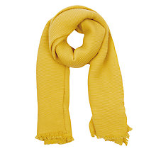 Buy Oasis Paris Crinkle Plain Scarf Online at johnlewis.com