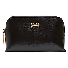 Buy Ted Baker Heelia Leather Makeup Case Online at johnlewis.com