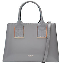 Buy Ted Baker Lolita Leather Tote Bag Online at johnlewis.com