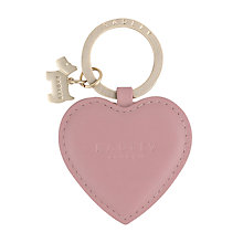 Buy Radley Kings Terrace Keyring, Pink Online at johnlewis.com