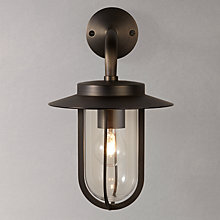 Buy ASTRO Montparnasse Lantern Outdoor Light, Bronze Online at johnlewis.com
