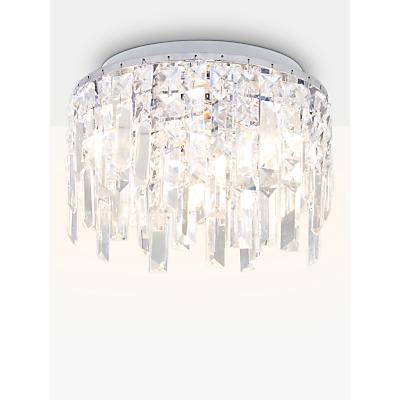 i4DZINE Sophia Crystal Small Bathroom Light, Crystal Clear