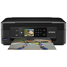 Buy Epson Expression Home XP-432 All-In-One Wireless Printer, Black Online at johnlewis.com