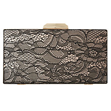 Buy Dune Binka Clutch Bag, Black Online at johnlewis.com