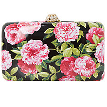 Buy Dune Belle Clutch Bag, Black Online at johnlewis.com