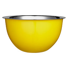 Buy John Lewis Mixing Bowl, New York Yellow Online at johnlewis.com