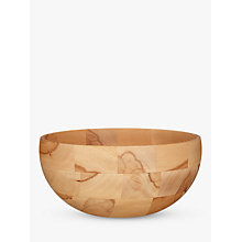 Buy John Lewis Croft Collection Beech Wood Bowl, Large Online at johnlewis.com
