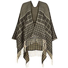 Buy Hobbs Natalie Check Wrap Online at johnlewis.com