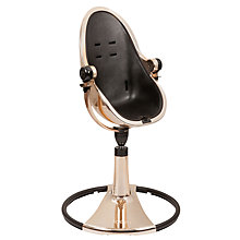 Buy bloom Fresco Chrome Rose Gold Highchair Online at johnlewis.com