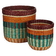 Buy John Lewis Dakara Storage Basket, Set of 2 Online at johnlewis.com