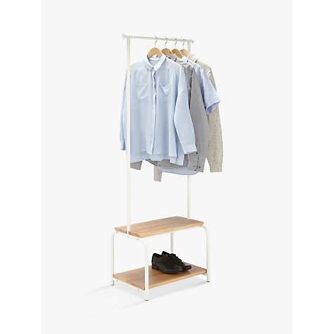 buy house by lewis slimline clothes rail lewis