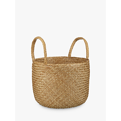 John Lewis Fusion Natural Seagrass Basket