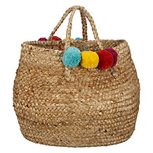 Buy John Lewis Pompom Tote Online at johnlewis.com