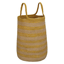 Buy John Lewis Yellow Stripe Tote Online at johnlewis.com