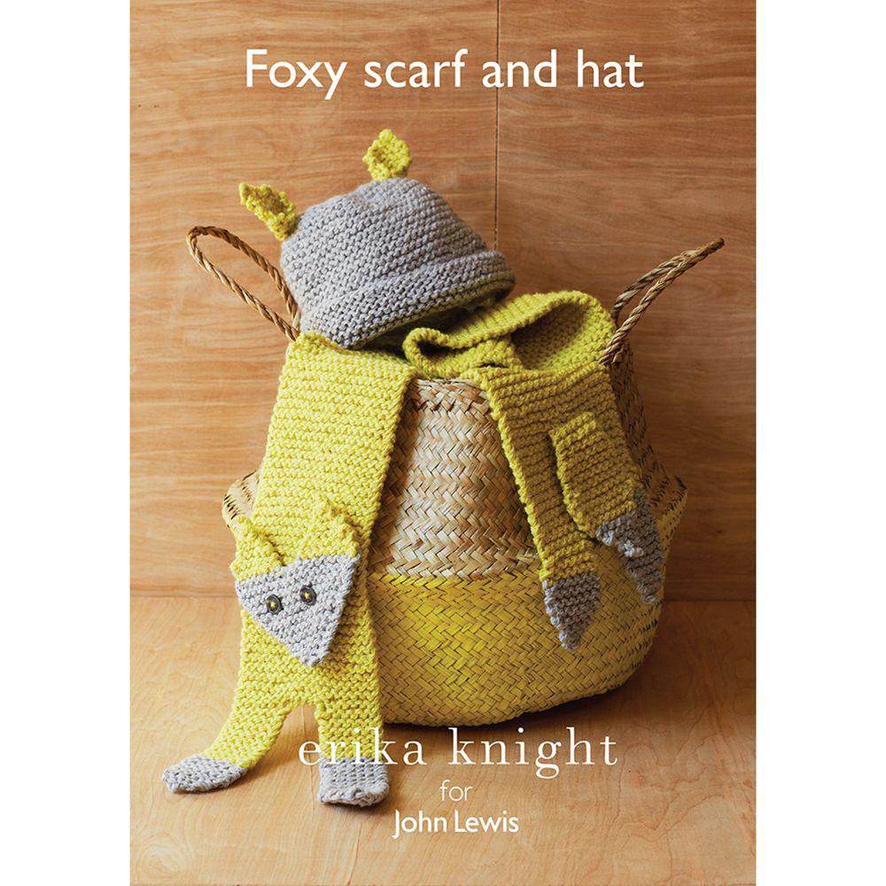 Erika Knight for John Lewis Erika Knight for John Lewis Fox Scarf and Hat Knitting Pattern