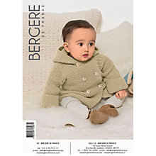 Buy Bergere De France Ciboulette Baby Cardigan Knitting Pattern, 72587 Online at johnlewis.com