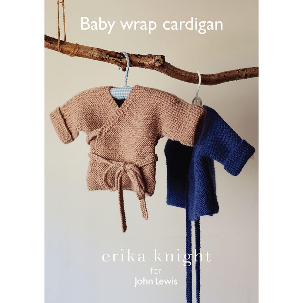 Erika Knight for John Lewis Erika Knight for John Lewis Baby Wrap Cardigan Knitting Pattern