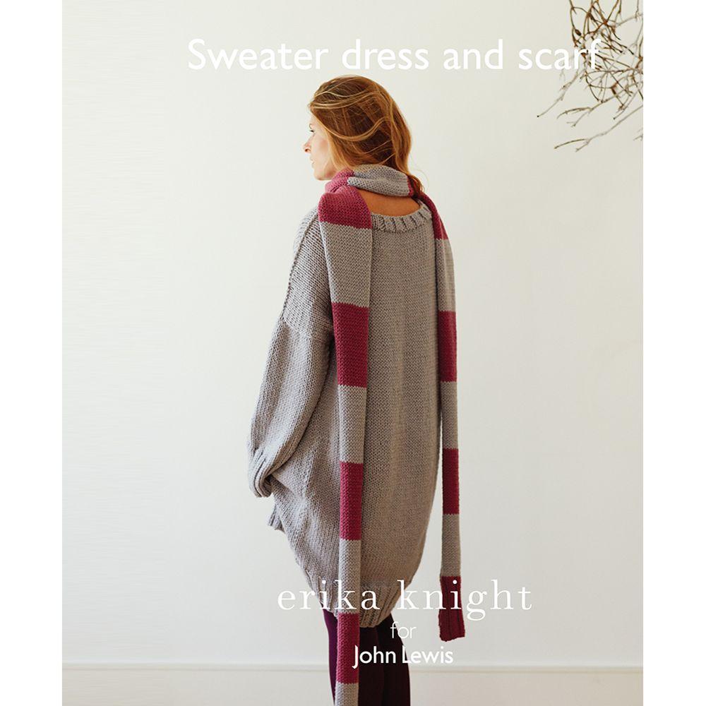 Erika Knight for John Lewis Erika Knight for John Lewis Women's Sweater Dress Knitting Pattern