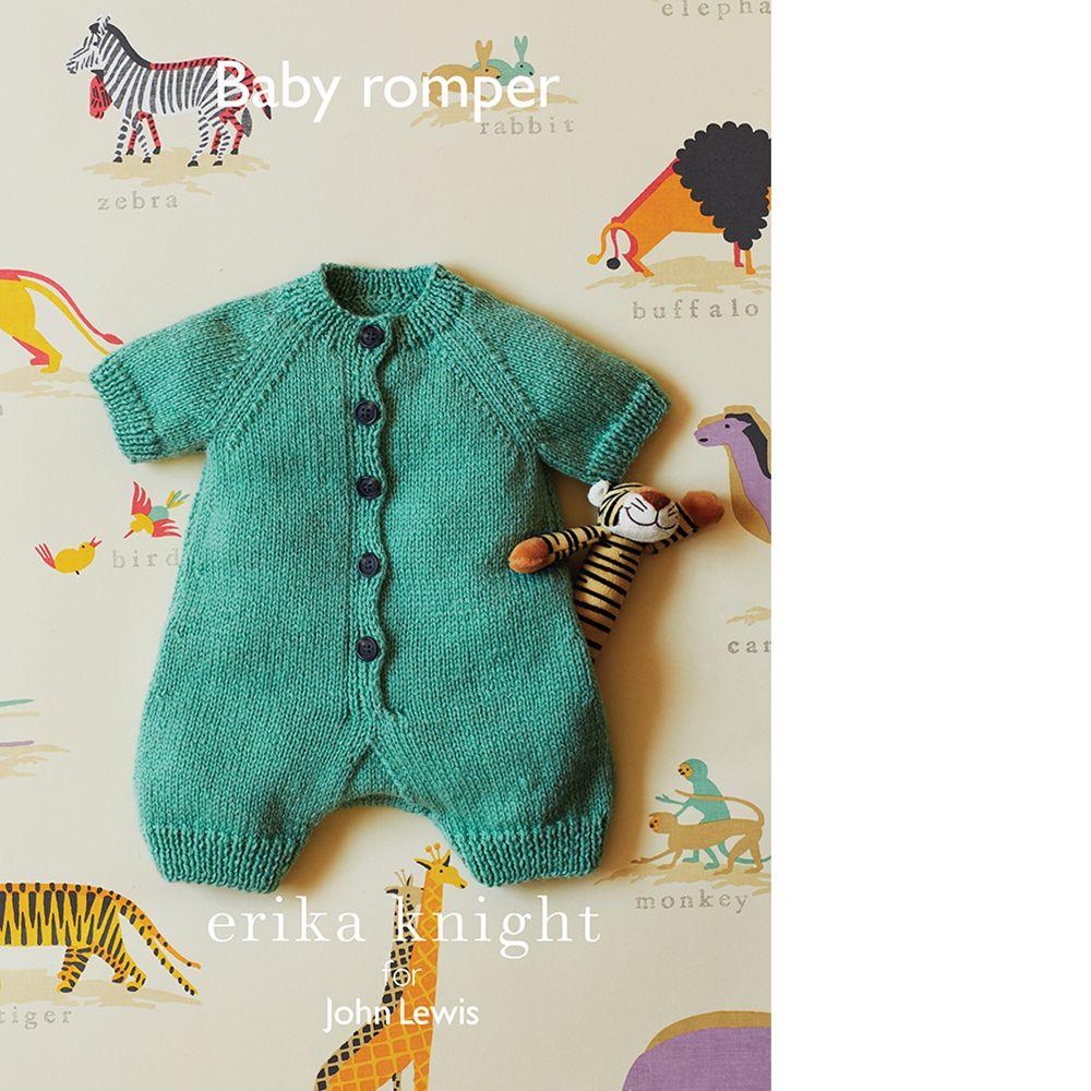 Erika Knight for John Lewis Erika Knight for John Lewis Baby Romper Knitting Pattern