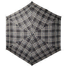 Buy John Lewis Fulton Victoria Piped Umbrella, Grey Online at johnlewis.com