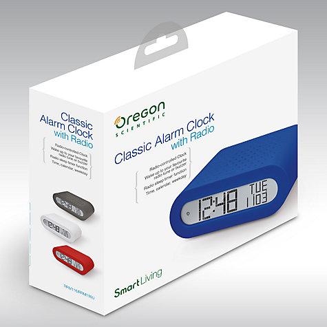 buy oregon scientific classic digital alarm clock with fm. Black Bedroom Furniture Sets. Home Design Ideas