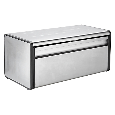 buy cheap stainless steel bread bin compare products. Black Bedroom Furniture Sets. Home Design Ideas