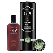 Buy American Crew King of Rock 'n' Roll Classic 3-in-1 and Forming Cream Duo Online at johnlewis.com