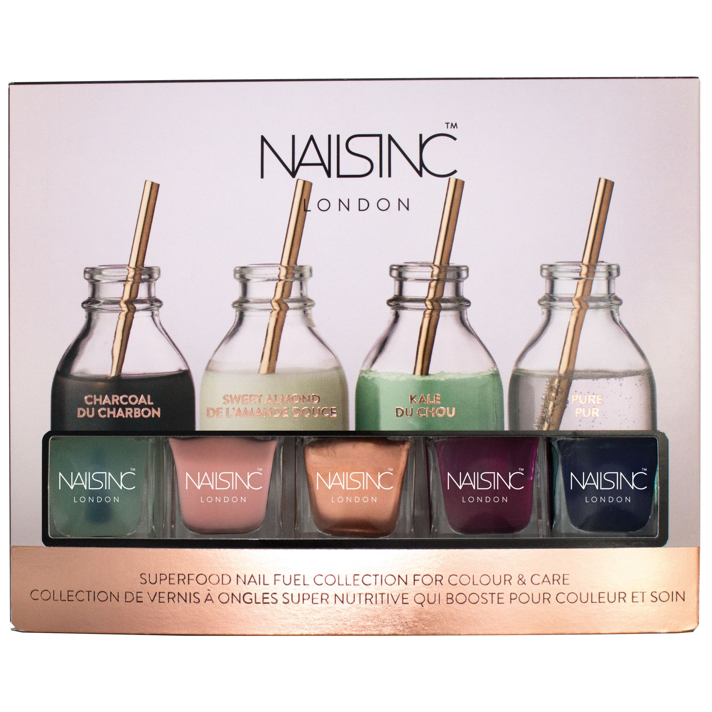 Nails Inc Nails Inc Superfood Nail Fuel Colour & Care Collection