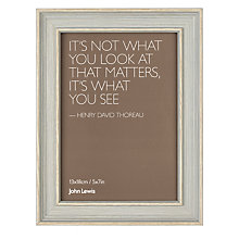 "Buy John Lewis Wood Effect Photo Frame, 5 x 7"" Online at johnlewis.com"