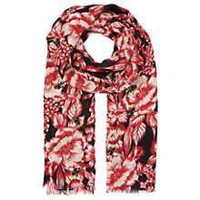 Buy Whistles Mason Floral Bee Print Scarf, Multi Online at johnlewis.com