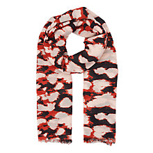 Buy Whistles Olive Animal Scarf, Multi Online at johnlewis.com