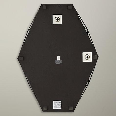 Buy umbra prisma wall mirror 43 x 57cm black john lewis for Miroir umbra